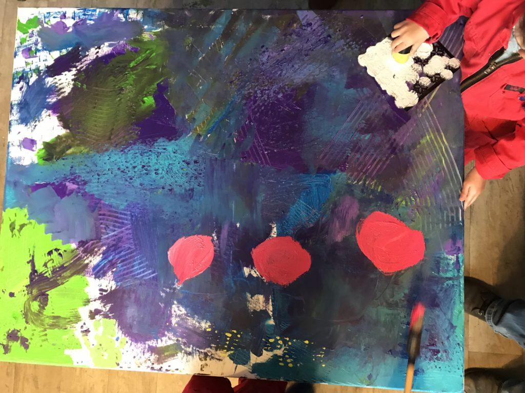 familiekunst Almelo schilderen workshop