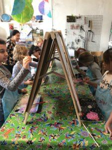 creatief kinderfeestje schilderen almelo