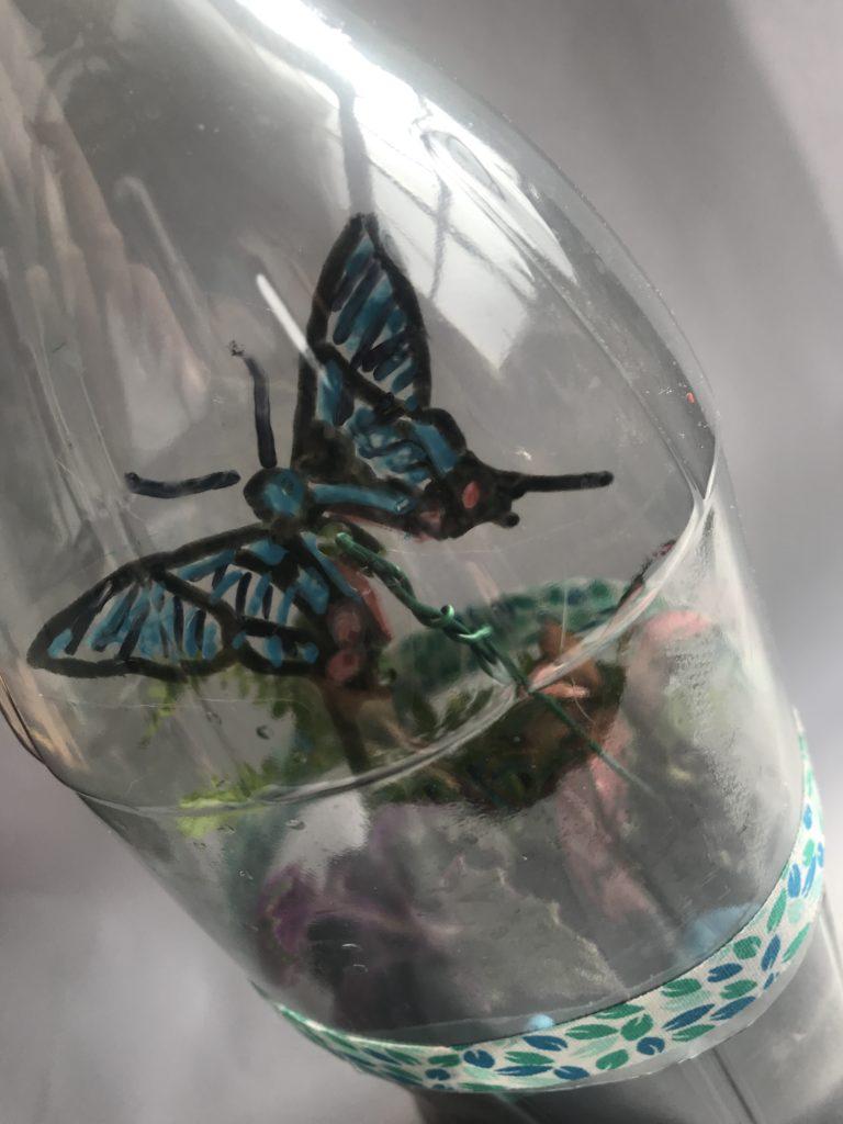 meivakantie knutselen Almelo terrarium