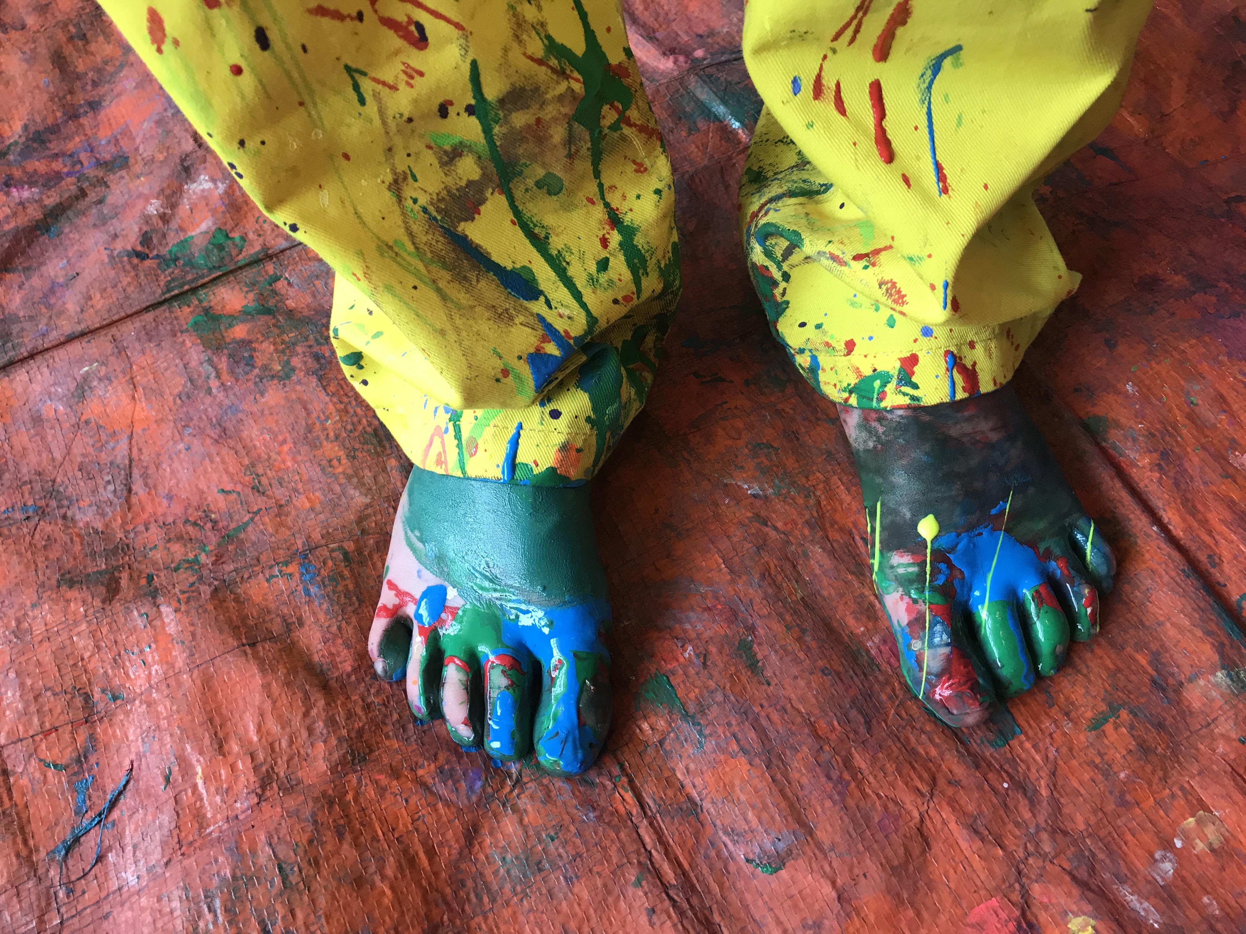 blote voeten verven kijk & Doe Almelo zomervakantie