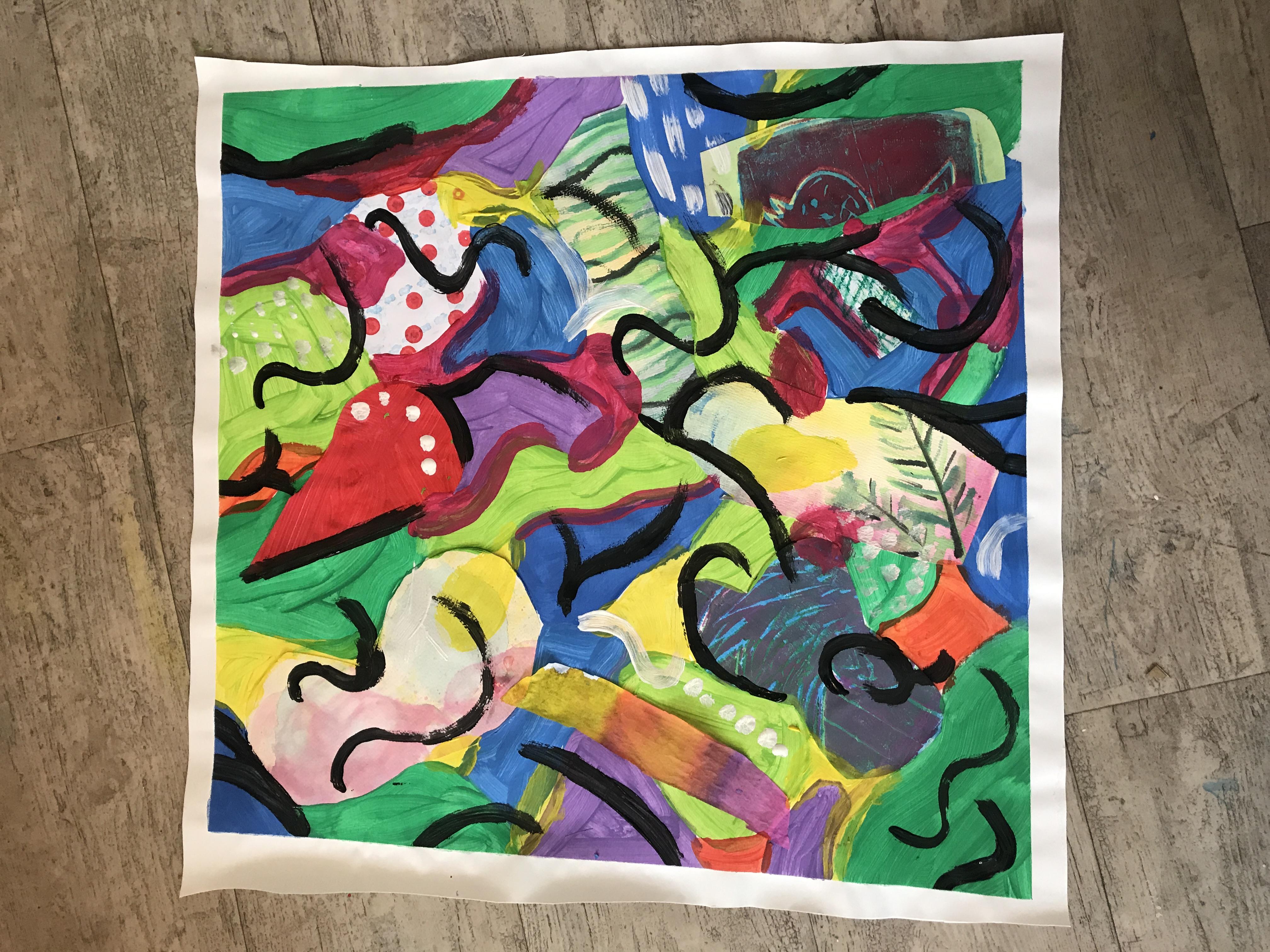 kinderatelier schilderen Almelo Kijk & Doe