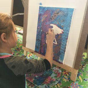 schilderen kinderfeestje creatief almelo