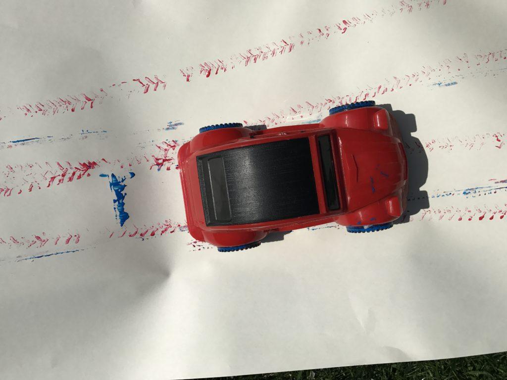 spelen met zintuigen Almelo peuter auto