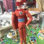 kinderfeestje knutselen houten figuur super hero Almelo