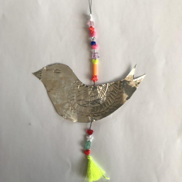 metalen vogelhangerar