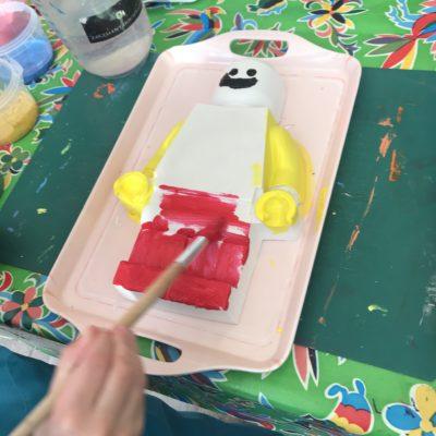 gips lego pop kinderfeestje Kijk & Doe
