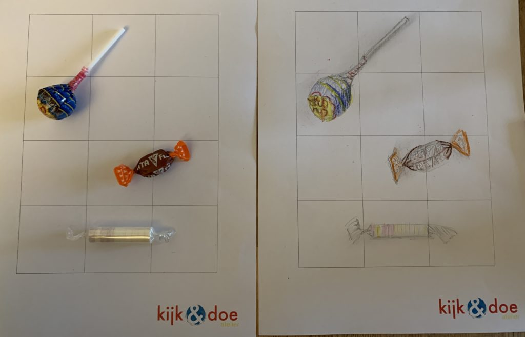 tekenen met een raster kijk & doe