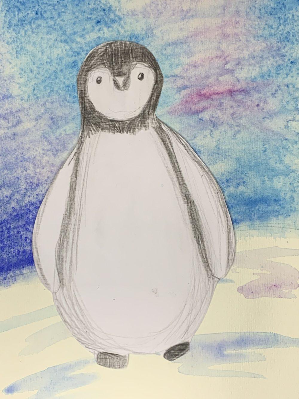 pinguïn tekenen Kijk & Doe Almelo