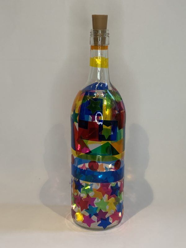 kleurrijk fles knutselshop Kijk & Doe