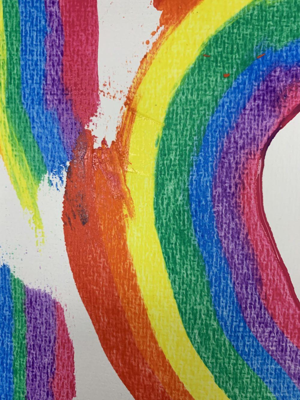 regenboog schilderen Kijk & Doe