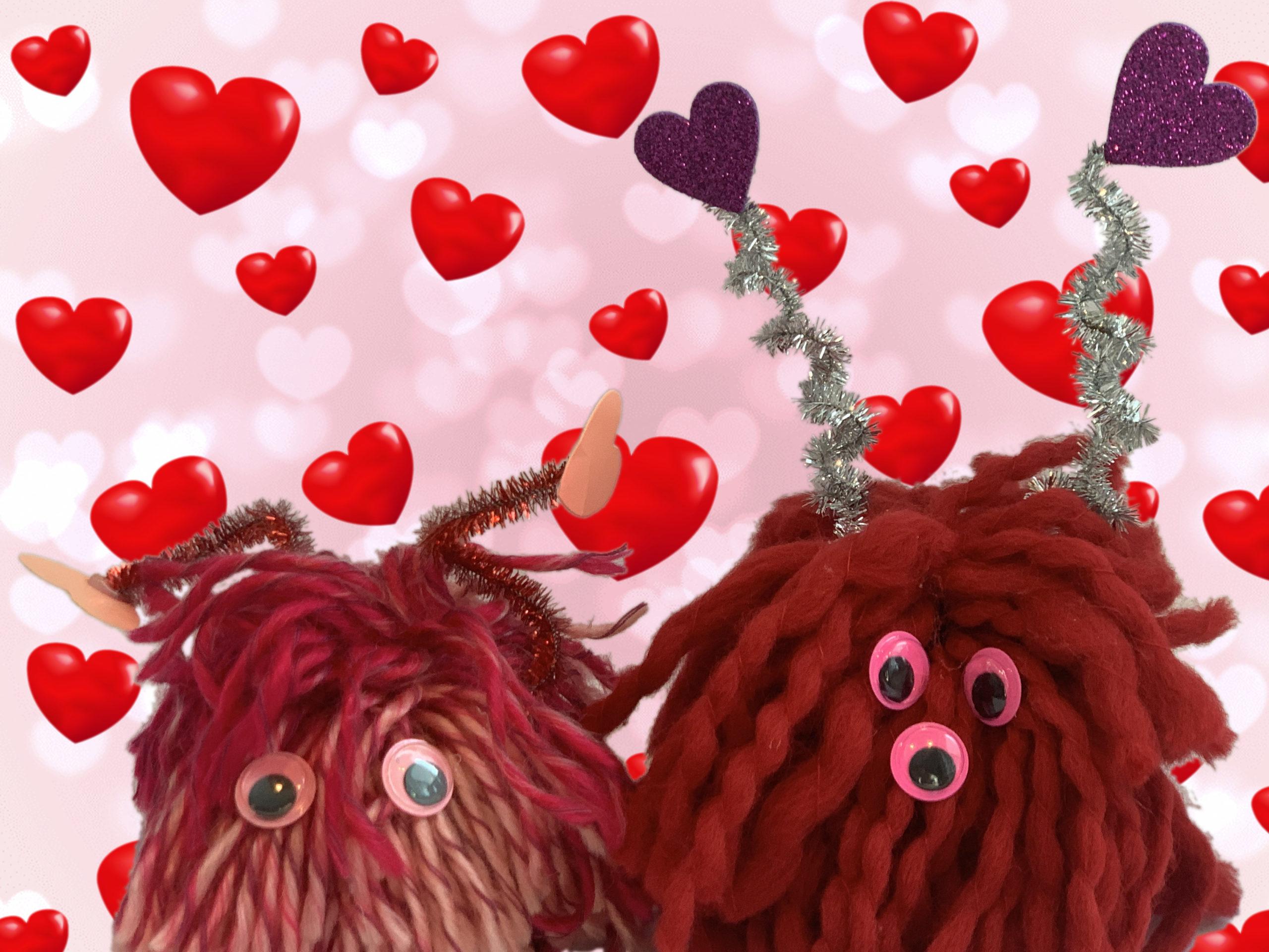 valentijn monster kijk & doe