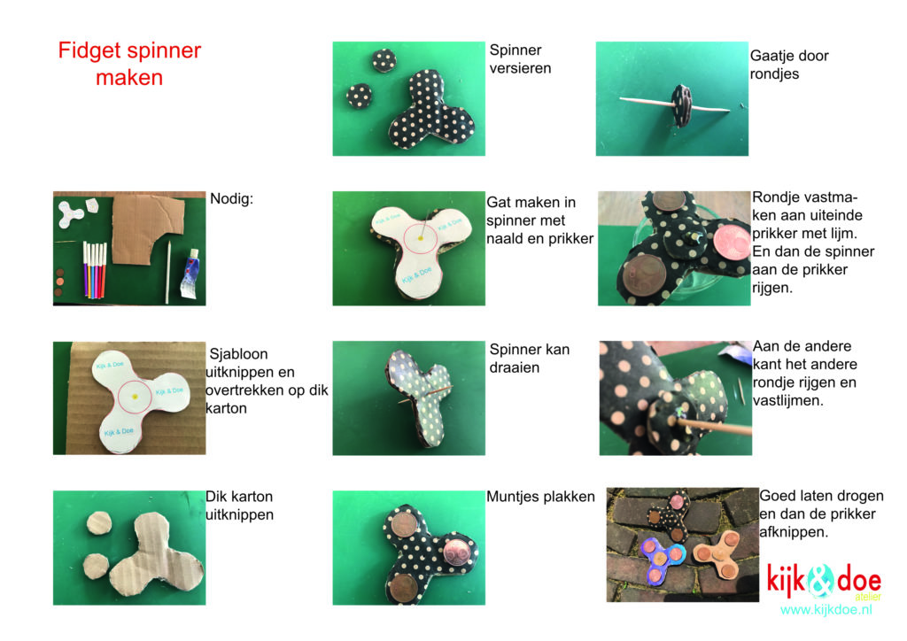 fidget spinner handleiding