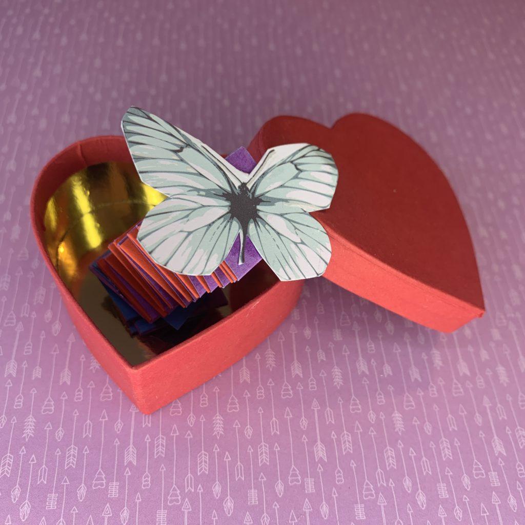 moederdag pop-up doos knutselen Kijk & Doe